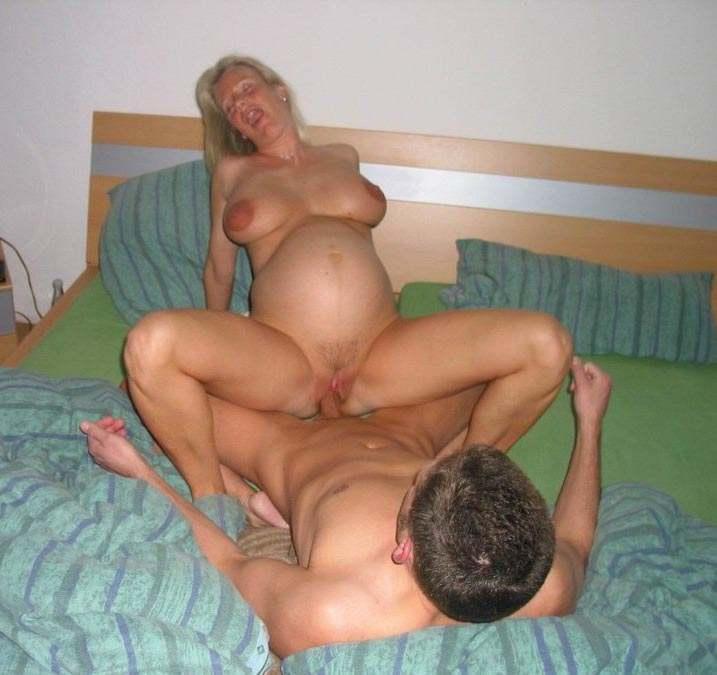 Фото секс с женой беременной
