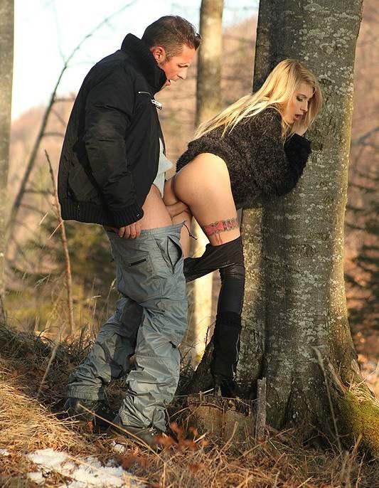 Порно в лесу грубый 83262 фотография